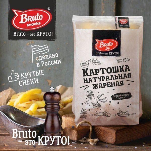 Картошка жареная Бруто Крафт с перцем и солью