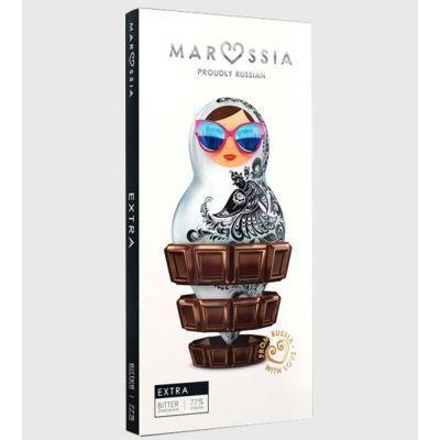 Шоколад горький Marossia 77% EXTRA