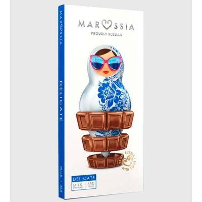 Шоколад молочный  Marossia 32% DELICATE