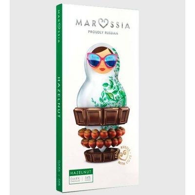 Шоколад темный Marossia 54% с лесным орехом