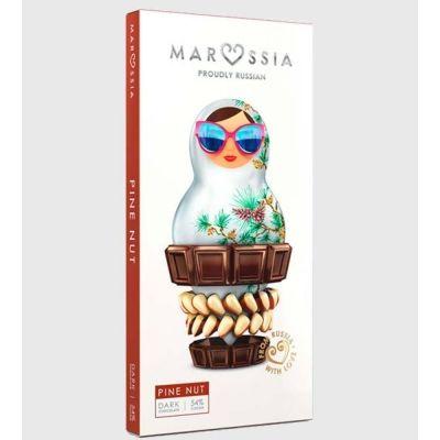 Шоколад темный Marossia 54% с кедровым орехом