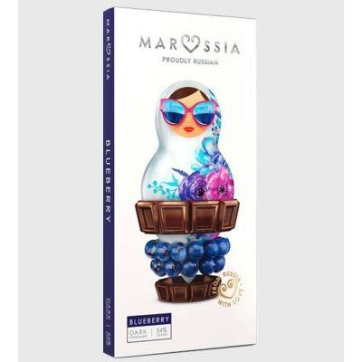 Шоколад темный Marossia 54% с черникой