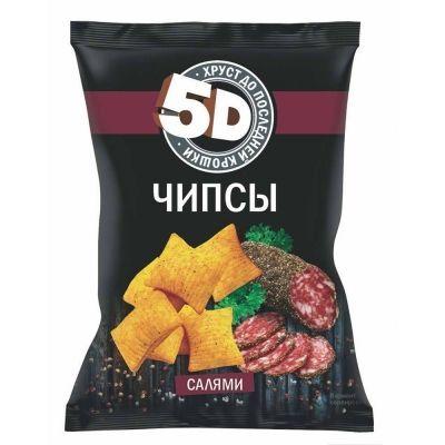 Чипсы пшеничные 5d со вкусом салями