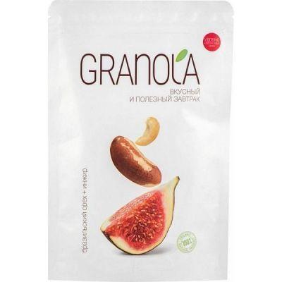 Гранола Nutsbee Бразильский орех + инжир