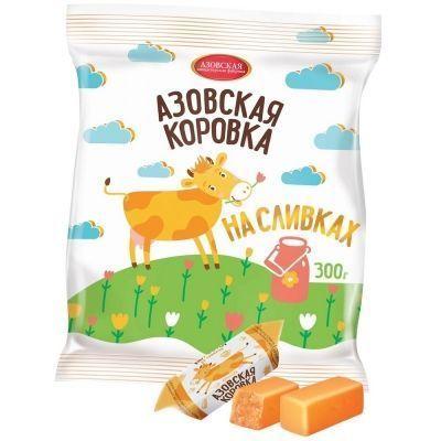 Конфеты Азовская кондитерская фабрика Коровка на сливках