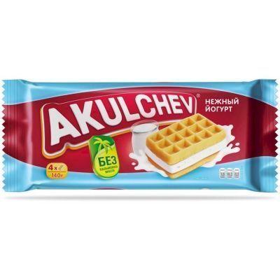Изделия хлебобулочные Акульчев Венские Вафли с йогуртом