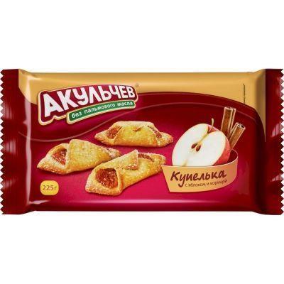 Печенье Акульчев Купелька с яблоком и корицей