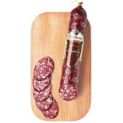 Колбаса Рублевский Брауншвейгская сырокопченная высший сорт