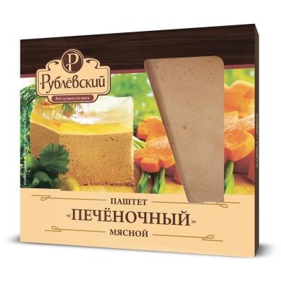 Паштет Рублевский мясной Печеночный в конт., газ.