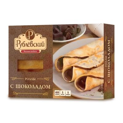 Роллы Рублевский с шоколадом замороженные