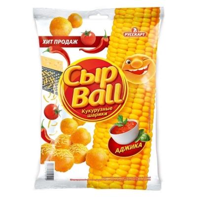 Кукурузные шарики Сыр Ball Аджика