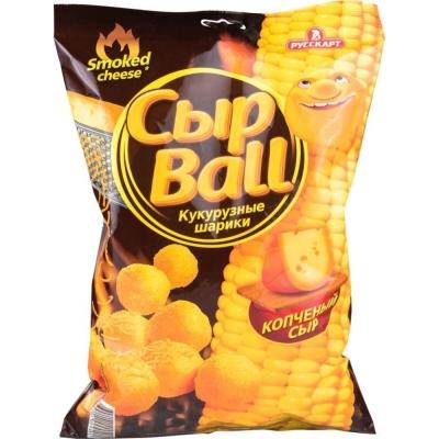 Кукурузные шарики Сыр Ball Копченый сыр