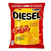 Чипсы TurboDiesel Жареная креветка