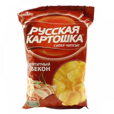 Чипсы Русская картошка Бекон