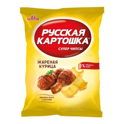 Чипсы Русская картошка Курица