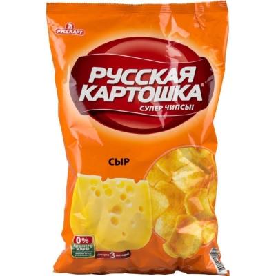 Чипсы Русская картошка Сыр