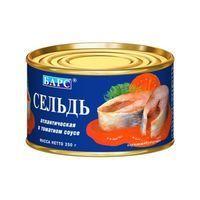 Сельдь 'Барс' атлантическая в томатном соусе