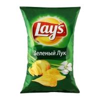 Чипсы Лейз зеленый лук