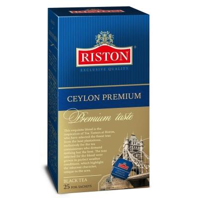 Чай Ристон Цейлонский Премиум 25 пак.