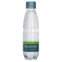Вода минеральная Акваника газированная ПЭТ