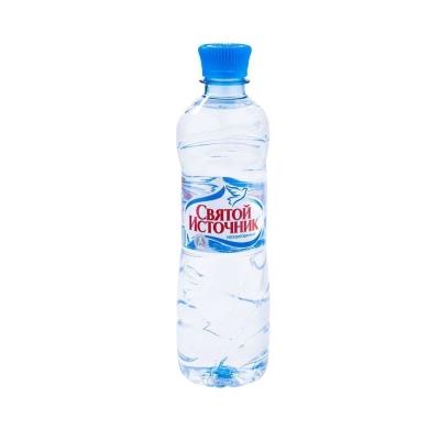 Вода минеральная 'Святой Источник' негазированная