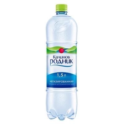 Вода Калинов Родник негазированная ПЭТ