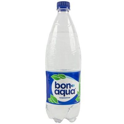 Вода БонАква сильногазированная ПЭТ