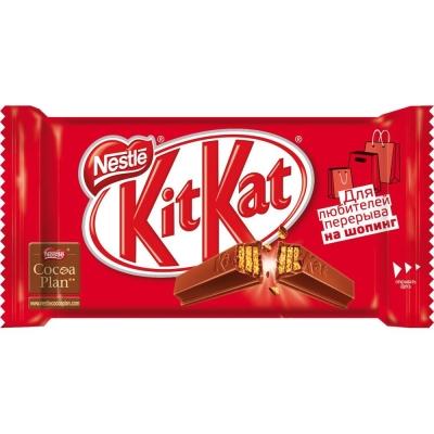 Батончик шоколадный Кит Кат (плитка)