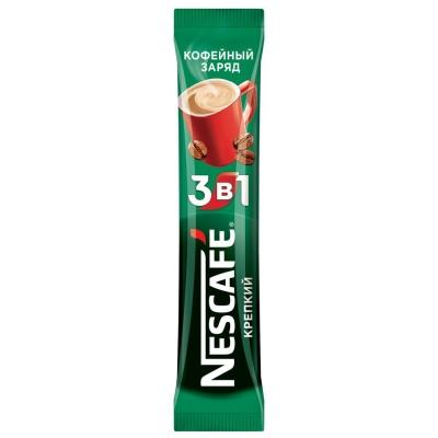 Кофе Нескафе 3в1 крепкий