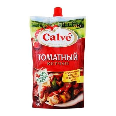 Кетчуп Кальве Томатный м/у