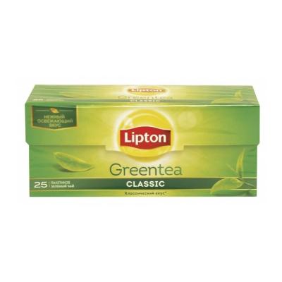 Чай Липтон Зеленый Классик 25 пак.