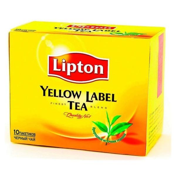 Чай Липтон 10 пак.