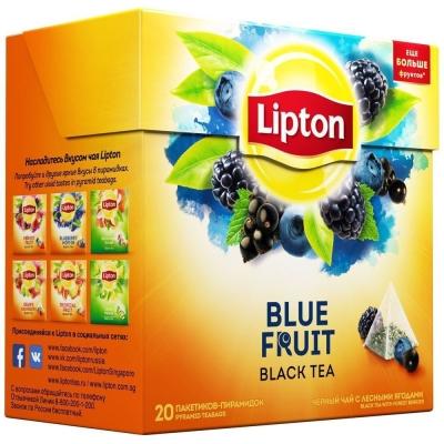 Чай Липтон Blue Fruit 20 пак.