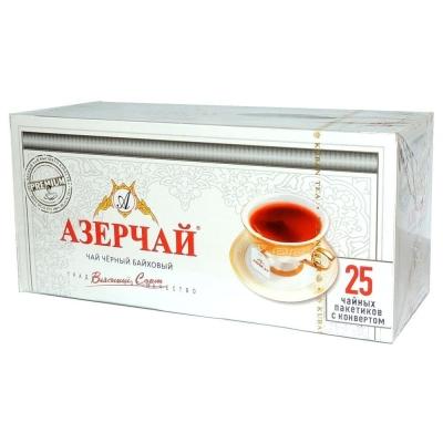 Чай Азерчай черный Премиум 25 пак.