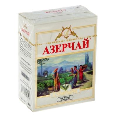 Чай Азерчай черный с ароматом Чабреца 100 пак.