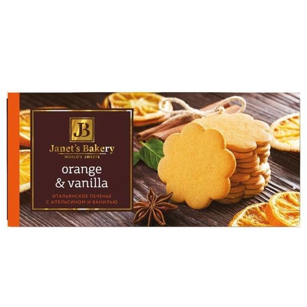 Печенье сдобное Janets Bakery Cookies dark chocolate