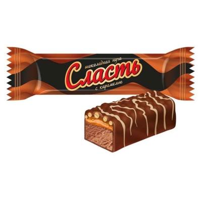 Конфеты Сласть шоколадная нуга с карамелью