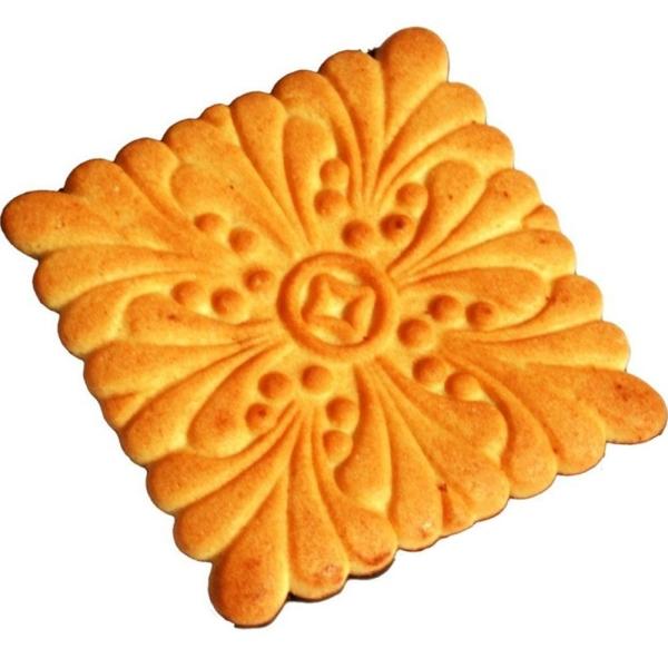 Печенье сахарное Пекарь со вкусом Земляники