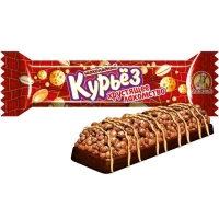 Батончик Славянка Курьез хрустящее лакомство шоколадное