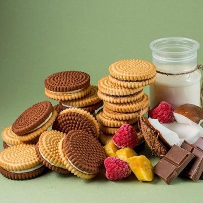 Печенье сахарное мини 'Барон Хрум' со вкусом малины