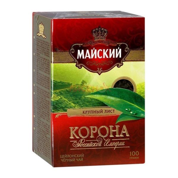 Чай Майский Корона Российской Империи крупнолистовой