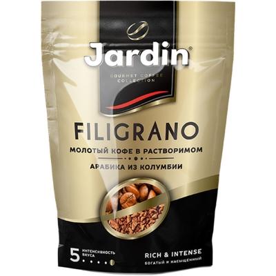 Кофе Jardin Филиграно растворимый сублимированный с молотым м/у