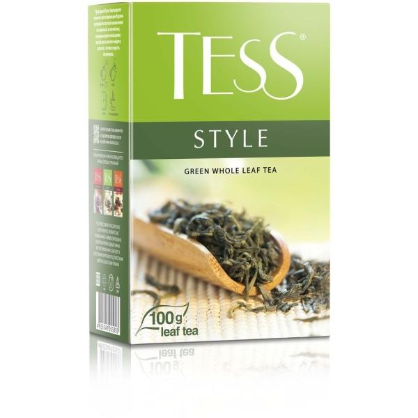 Чай Tess Стайл зеленый листовой