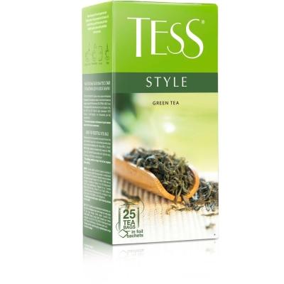 Чай Tess Стайл зеленый 25 пак.