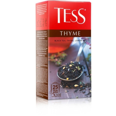 Чай Tess Тайм 25 пак.