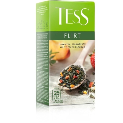 Чай Tess Флирт 25 пак.