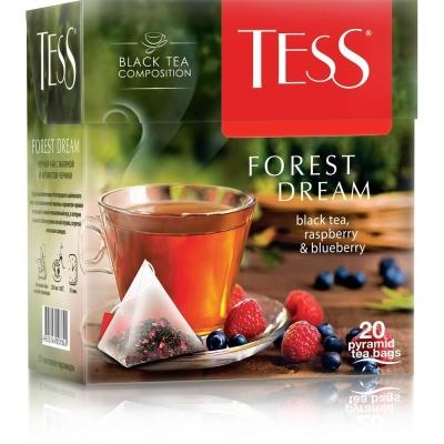 Чай Tess Форест Дрим  black 20 пир.