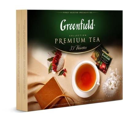 Набор Гринфилд Ассорти превосходного чая 30 сортов, 120 пак.