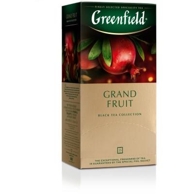 Чай Гринфилд Гранд Фрут 25 пак.