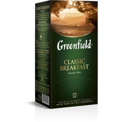 Чай Гринфилд Классик Брекфест черный 25 пак.